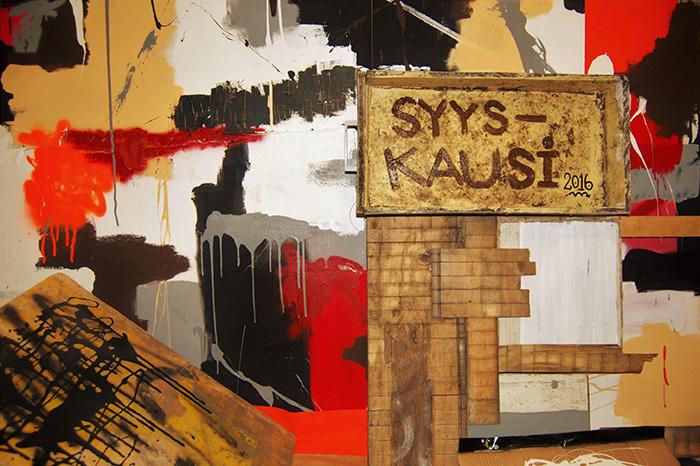 Stipendiaattinäyttely: J-P Köykkä – Syyskausi 2016