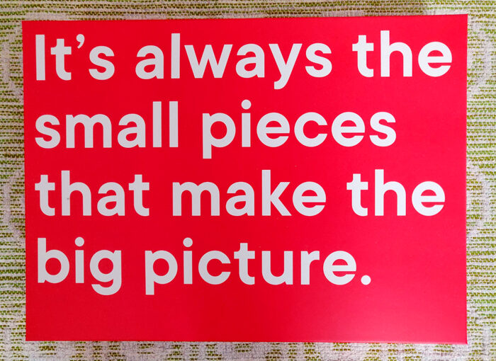 Ismo Torvinen – It's always the small pieces that make the big picture